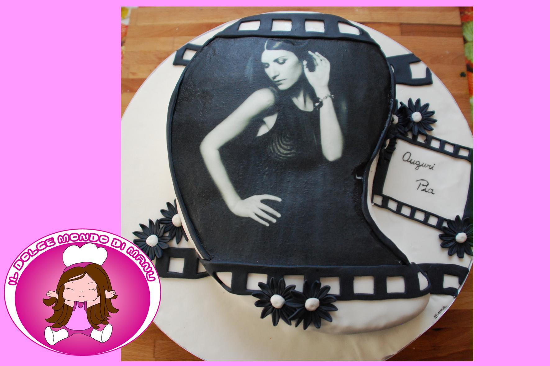 Torta Compleanno Laura.Cake Laura Pausini Il Dolce Mondo Di Manu