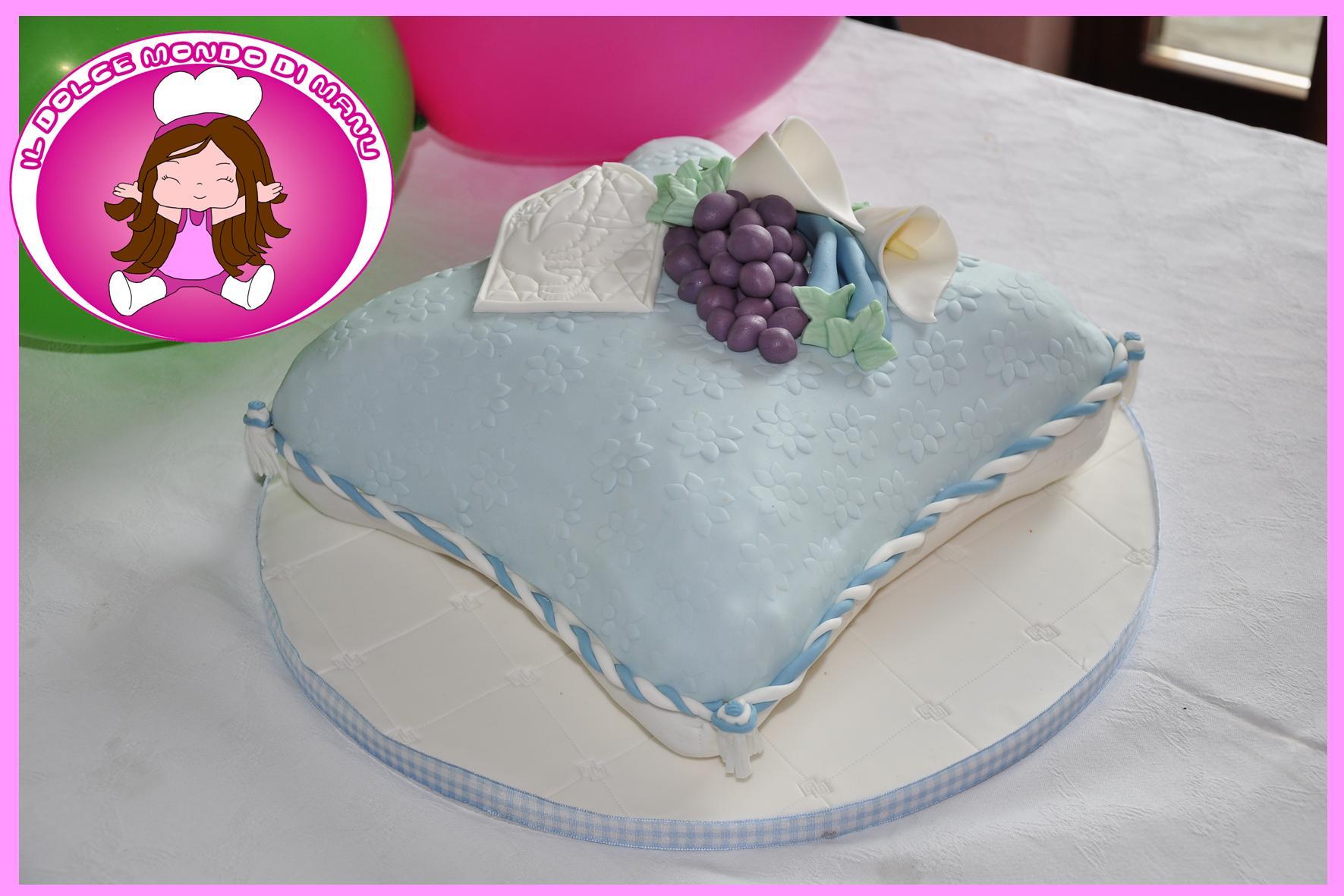 Manu Cake Design : Comunione Lorenzo manu Cake Designer